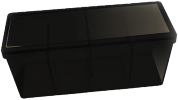 Four Compartment Box (Black)