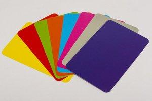 Blanco Gekleurde Speelkaarten (Rechthoekig)