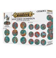 Warhammer: Age of Sigmar - Shattered Dominion (25 & 32mm Round Bases - 70 stuks)
