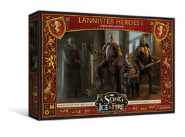 A Song of Ice & Fire: Tabletop Miniatures Game - Lannister Heroes #1