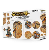 Warhammer: Age of Sigmar - Shattered Dominion (40 & 65mm Round Bases)