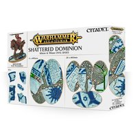 Warhammer: Age of Sigmar - Shattered Dominion (60 & 90mm Oval Bases)