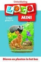 Mini Loco - Dieren en Planten in het Bos (6-8 jaar)