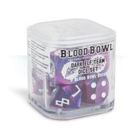Blood Bowl: Dark Elf Dice Set