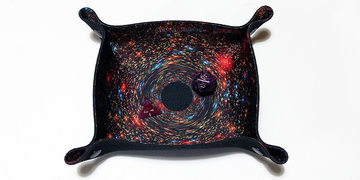 Dice Tray Compact: Black Hole (All Rolled Up)