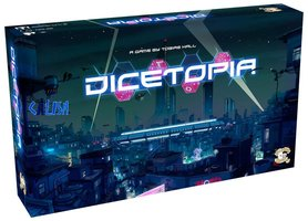 Dicetopia [BUNDEL: BASISSPEL + SOLO PACK + FACTION PACK + MEEPLE PACK]