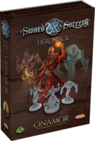 Sword & Sorcery: Hero Pack - Onamor the Necromancer/Summoner