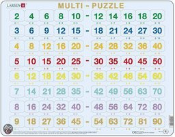 Puzzel LARSEN: Tafels (80)