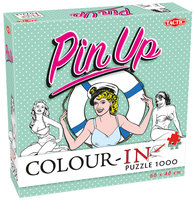 Colour-In Puzzel: Pin Up (1000)