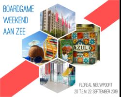 Boardgameweekend aan Zee (2019): Appartement met 2 slaapkamers (6+1 personen)