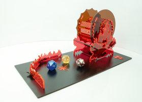 Blackfire Dice Tower: Hells Wheel
