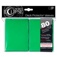 Ultra Pro Eclipse PRO-Matte Sleeves: Standaard Green (66x91mm) - 80 stuks