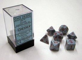 Dobbelstenen Air Speckled Polydice (7 stuks)