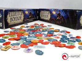 Eldritch Horror: Complete Tokens Set (184pc, e-Raptor)