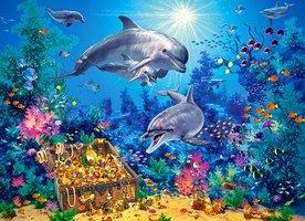 Puzzel Dolfijnen (300)