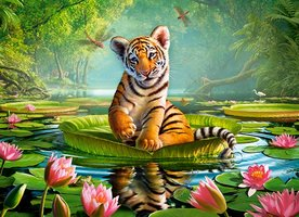 Puzzel Tiger Lily (300)