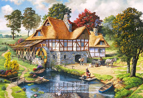Water Mill Cottage - Puzzel (2000)