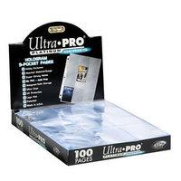 Ultra Pro 9-Pocket Page (Platinum Series) - 100 stuks