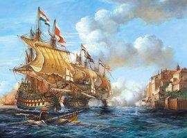 """Copy of """"Battle of Porto Bello"""", 1739 - Puzzel (2000)"""