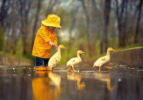 Rainy Day Friends - Puzzel (500)