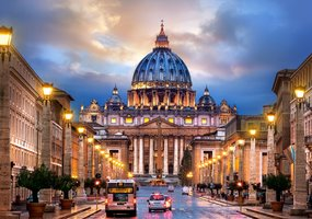 The Basilica of St. Peter - Puzzel (500)