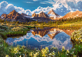 Mirror of the Rockies - Puzzel (500)