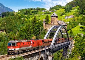 Train on the Bridge - Puzzel (500)
