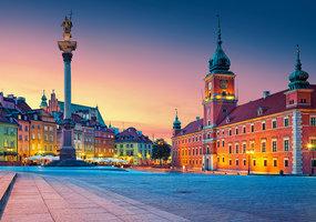 Castle Square in Warsaw - Puzzel (500)
