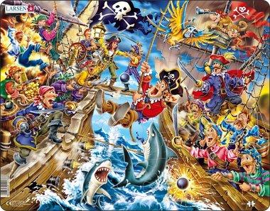 Puzzel LARSEN: Het Piratengevecht (39)