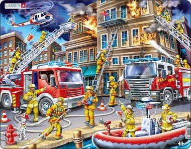 Puzzel LARSEN: De Brandweermannen (45)