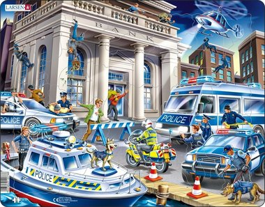 Puzzel LARSEN: De Politie (43)