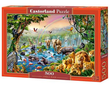 Jungle River - Puzzel (500)