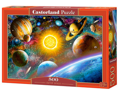 Outer Space - Puzzel (500)