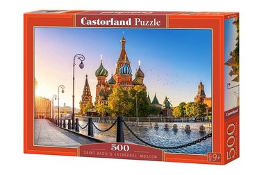 Saint Basil's Cathedral, Moscow - Puzzel (500)