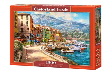 The French Riviera - Puzzel (1500)