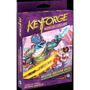 PRE-ORDER: KeyForge: Worlds Collide (Deluxe Archon Deck)