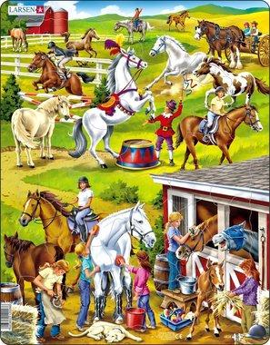 Puzzel LARSEN: De Paardenmanege (50)