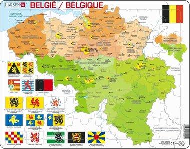 Puzzel LARSEN: België (48)
