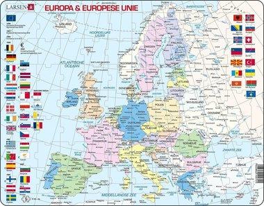 Puzzel LARSEN: Europa & Europese Unie (70)