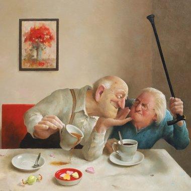 Liefde van 1 kant - Puzzel Marius van Dokkum (210)