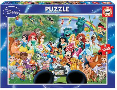 The Marvellous World of Disney II - Puzzel (1000)