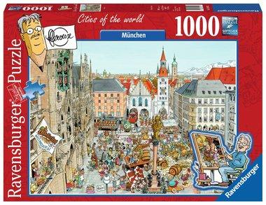Fleroux: München, Cities of the World - Puzzel (1000)