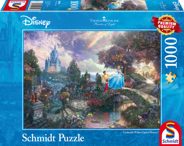 Cinderella Wishes Upon a Dream - Puzzel (1000)