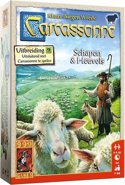 Carcassonne: Schapen en Heuvels (Uitbreiding 9)
