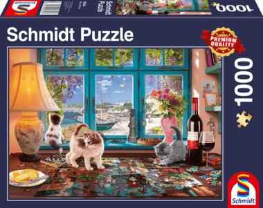 Aan de puzzeltafel - Puzzel (1000)