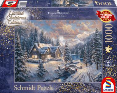 Kerst in de Bergen - Puzzel (1000)