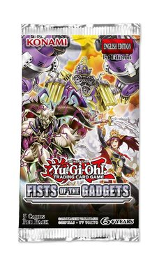 Yu-Gi-Oh! Fist of the Gadgets (Booster)