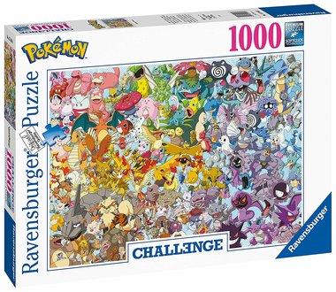 Challenge: Pokémon - Puzzel (1000)