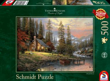 Huis in de Bergen - Puzzel (500)