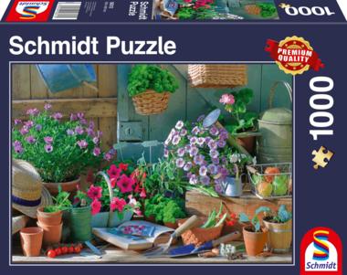 Aan de tuintafel - Puzzel (1000)